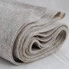 100% Wool Felt Fabric - Approx 1mm Thick - Natural Beige - 45cm x 50cm