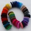 100% Wool Felt Die Cut Circles - 3cm - 50 Count - Assorted Colours