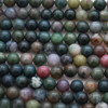 High Quality Grade A Natural Indian Agate Semi-precious Gemstone Round Beads 4mm, 6mm, 8mm, 10mm