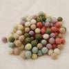 100% Wool Felt Balls - 100 Count - Assorted Pastel Colours - 1cm