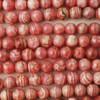 High Quality Grade A Natural Pink Rhodochrosite Semi-precious Gemstone Round Beads 4mm 6mm, 8mm, 10mm