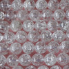 High Quality Grade A Natural Crackle Crystal Quartz Semi-precious Gemstone Round Beads 4mm, 6mm, 8mm, 10mm