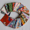 Japanese Handcrafted Yuzen Washi Origami Paper - 200 Assorted Sheets - 6cm x 6cm