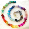 100% Wool Felt Hearts - 100 Count - Pick & Mix from 90 colours - approx 3cm