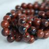 High Quality Grade A Natural Mahogany Obsidian Semi-precious Gemstone Round Beads 4mm, 6mm, 8mm, 10mm sizes