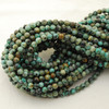 High Quality Grade A Natural African Turquoise Semi-precious Gemstone Round Beads 4mm, 6mm, 8mm, 10mm sizes