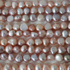 """16"""" Strand Natural Freshwater Pearl Beads Nuggets Purple 7 - 9mm Grade A"""
