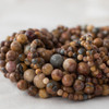 High Quality Grade A Natural Venus Jasper Semi-precious Gemstone Round Beads - 4mm, 6mm, 8mm, 10mm sizes