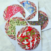 Japanese Handcrafted Yuzen Washi Origami Paper Pack - 80 Assorted Sheets (40 Handcrafted Yuzen and 40 Plain Washi Paper) - 7.5cm