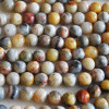 High Quality Grade A Natural Crazy Lace Agate Semi-Precious Gemstone Round Beads - 4mm, 6mm, 8mm, 10mm