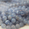 High Quality Grade A Natural Blue Lace Agate Semi-precious Gemstone Round Beads 4mm, 6mm, 8mm