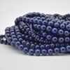 High Quality Grade A Natural Lapis Lazuli (with more gold Pyrite inclusions) Semi-Precious Gemstone Round Beads - 4mm, 6mm, 8mm, 10mm, 12mm