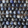 High Quality Grade A Natural Sodalite (blue) Semi-Precious Gemstone Round Beads 4mm, 6mm, 8mm, 10mm, 12mm