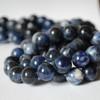 High Quality Grade A Natural Sodalite (blue) Semi-Precious Gemstone Round Beads 4mm, 6mm, 8mm, 10mm, 12mm