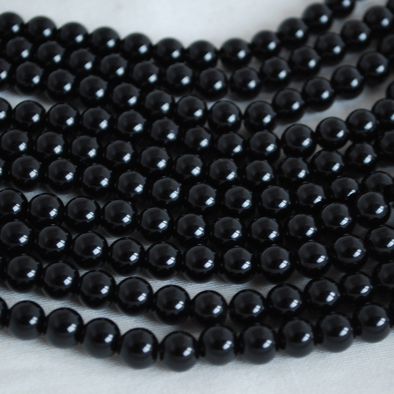 Mahogany Obsidian Gemstone Round Beads 8mm Jewellery Making 47-50 Beads