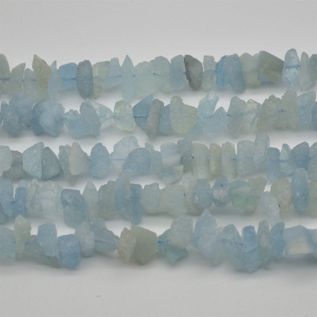 Semi Precious Stone Bead About 80 Frosted Mixed Natural Gemstone Beads Frost Gems Chip Strand 15.5 Inch Strand 12-22mm Long Chip Beads