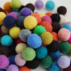 1.3cm Felt Balls