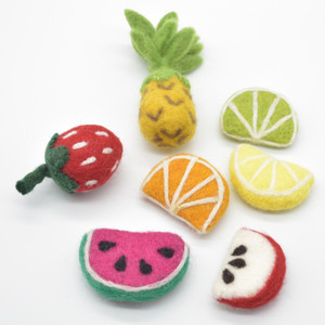 Felt Fruits, Vegetables & Sweets