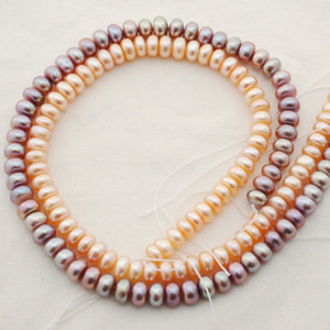 Pearl Rondelle Beads