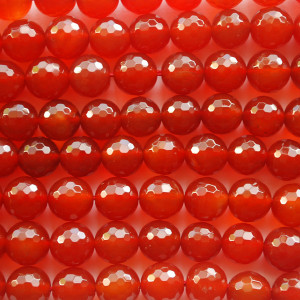 Carnelian Red Agate Beads