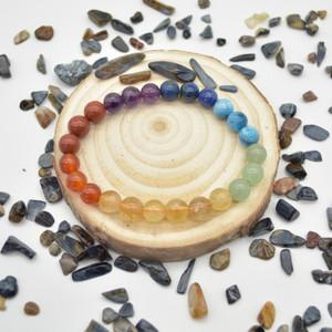 Gemstone Round Beads Bracelets
