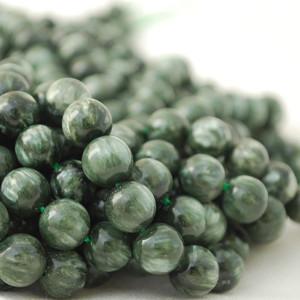 Seraphinite Beads