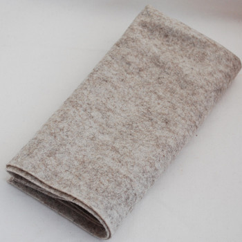 100% Wool Felt Fabric - Approx 1mm Thick - Natural Beige