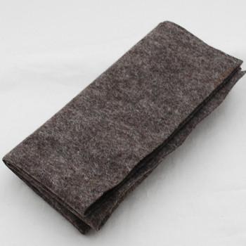 100% Wool Felt Fabric - Approx 1mm Thick - Natural Brown