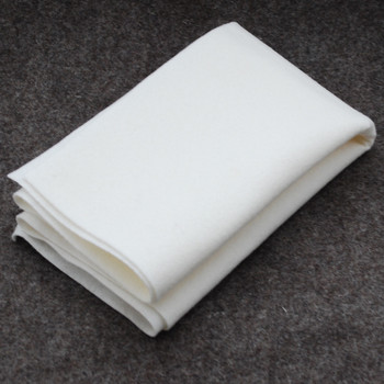 100% Wool Felt Fabric - Approx 1mm Thick - Ivory White