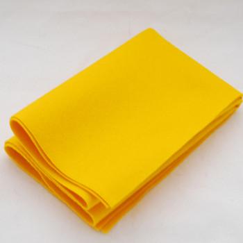 100% Wool Felt Fabric - Approx 1mm Thick - Mustard Yellow