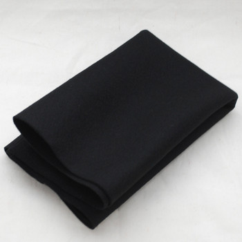 100% Wool Felt Fabric - Approx 1mm Thick - Black