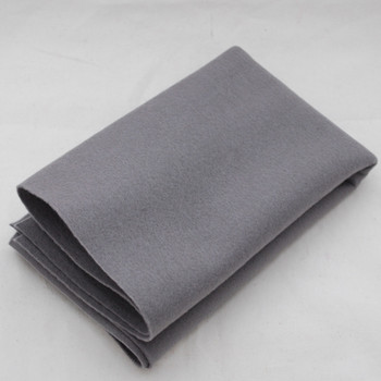 100% Wool Felt Fabric - Approx 1mm Thick - Battleship Grey