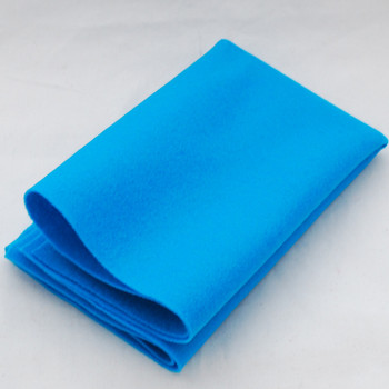 100% Wool Felt Fabric - Approx 1mm Thick - Dark Turquoise