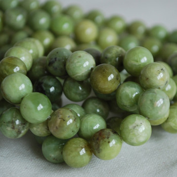 High Quality Grade A Natural Olivenite (green) Gemstone Round Beads 4mm, 6mm, 8mm, 10mm sizes