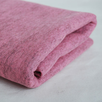 100% Wool Felt Fabric - Approx 1mm Thick - Mottled Pink