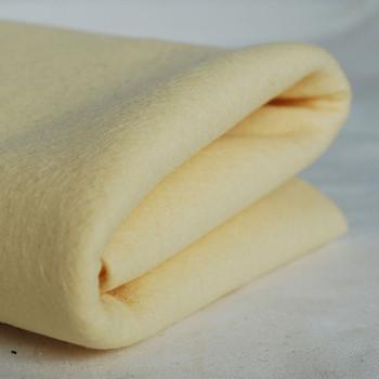 100% Wool Felt Fabric - Approx 1mm Thick - Butter Cream