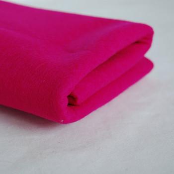 100% Wool Felt Fabric - Approx 1mm Thick - Bright Azalea Pink