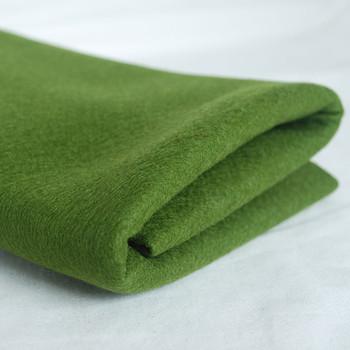 100% Wool Felt Fabric - Approx 1mm Thick - Dark Olive Green