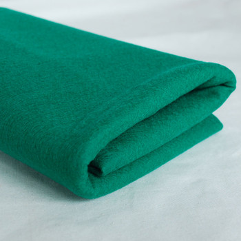 100% Wool Felt Fabric - Approx 1mm Thick - Bright Forest Green