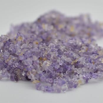 "High Quality Grade A Natural Ametrine Semi-precious Gemstone Chips Nuggets Beads - 5mm - 8mm, approx 36"" Strand"