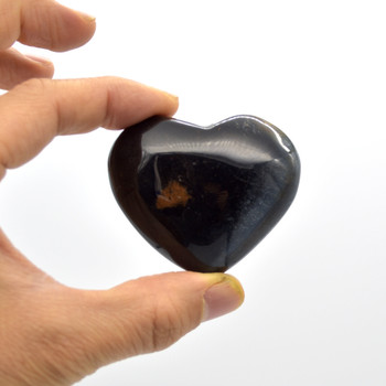 High Quality Natural Blue Tigers Eye Heart Semi-precious Gemstone Heart - 1 Gemstone Heart - 94 grams - #6