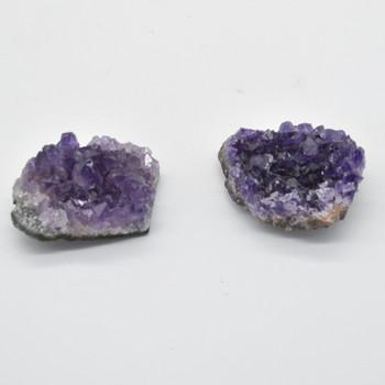 Raw Natural Amethyst Semi-precious Gemstone Cluster - 40-50 grams - approx 5cm x 3.5cm x 2cm  #5