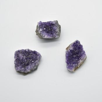 Raw Natural Amethyst Semi-precious Gemstone Cluster - 50-60 grams - approx 5cm x 3.5cm x 2cm  #5