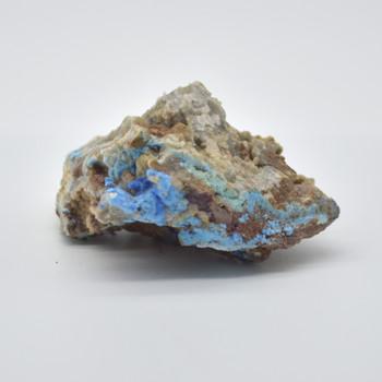 Raw Natural Cyanotrichite Gemstone sample / specimen rock - 1 count - 156 grams #08