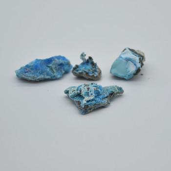 Raw Natural Gibbsite Gemstone sample / specimen rock - 1-4 count - 12 grams #12