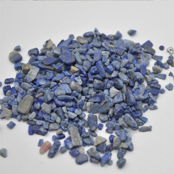 Natural lapis Lazuli Tumblestone Chips - approx 100g - approx 3mm - 10mm