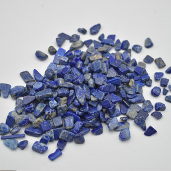 Natural Lapis Lazuli Gemstone Chips - 100g - 8mm - 15mm