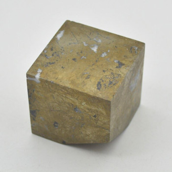 Pyrite Gemstone Cube - 328 grams - 4cm x 4cm x 4cm - 1 count