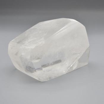 Natural Clear Quartz Freeform / Free Form - 1 Count - approx 7cm x 9.5cm x 7cm - 708 grams
