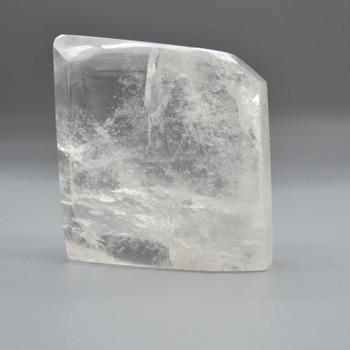 Natural Clear Quartz Freeform / Free Form - 1 Count - approx 9cm x 8cm x 3cm - 551 grams